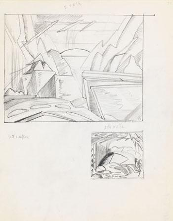 Notes (New Hampshire) by Lawren Stewart Harris