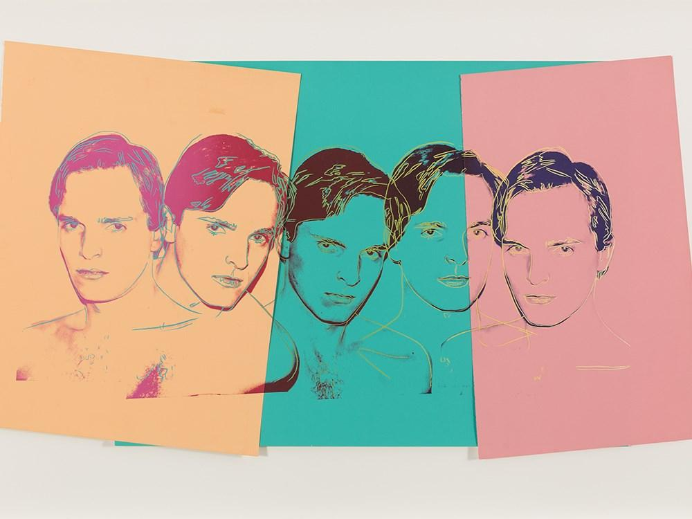 Miguel Bos? by Andy Warhol