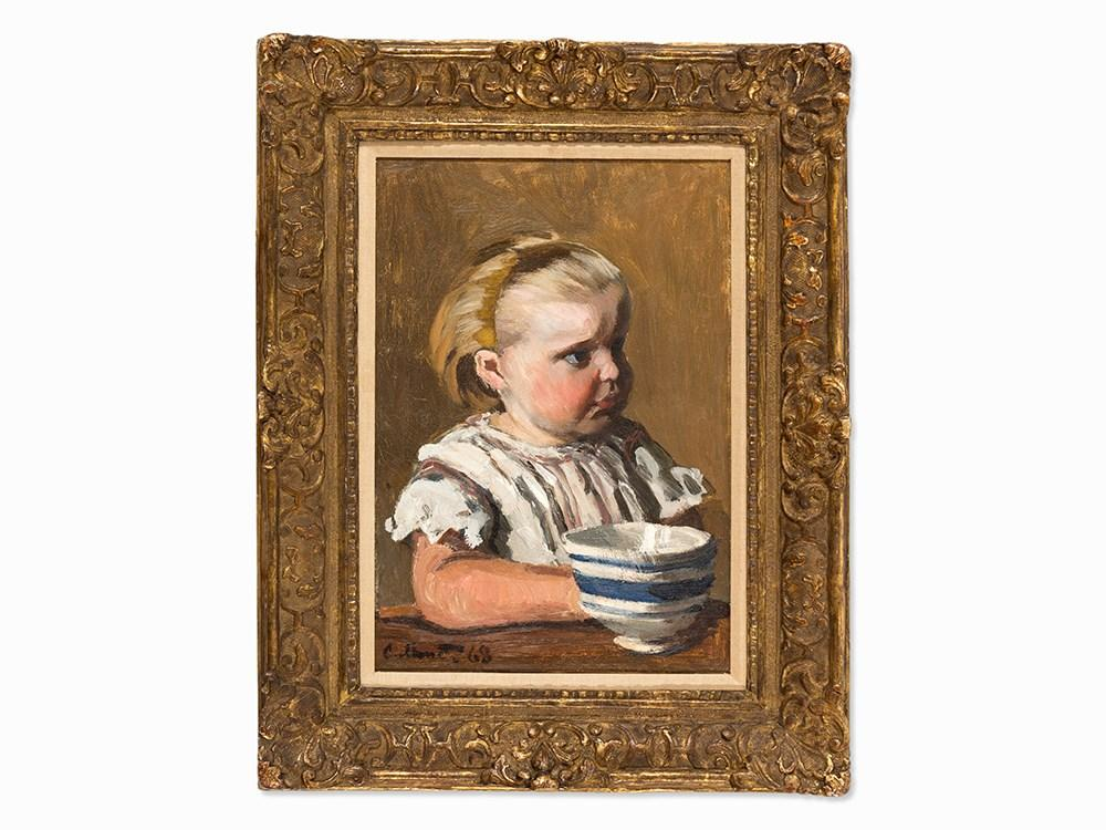 L'enfant ? La Tasse by Claude Monet