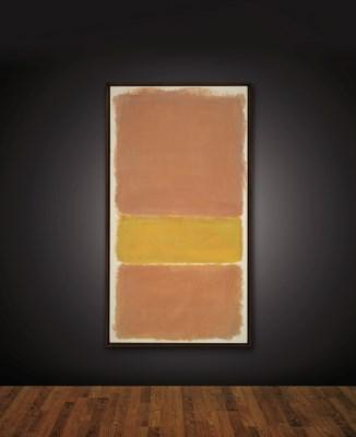 Untitled (Orange and Yellow) by Mark Rothko