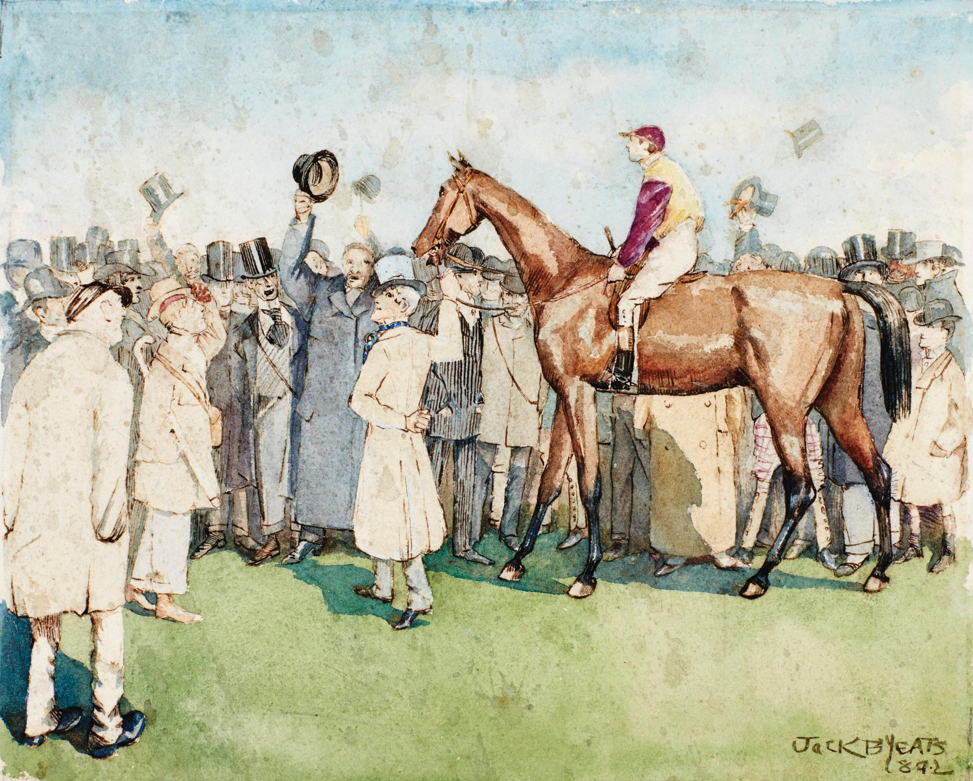 The Winner by Jack Butler Yeats