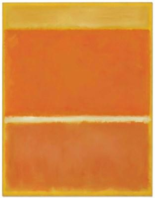 Saffron by Mark Rothko