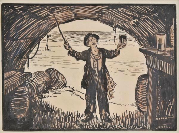 The connaught toast by Jack Butler Yeats