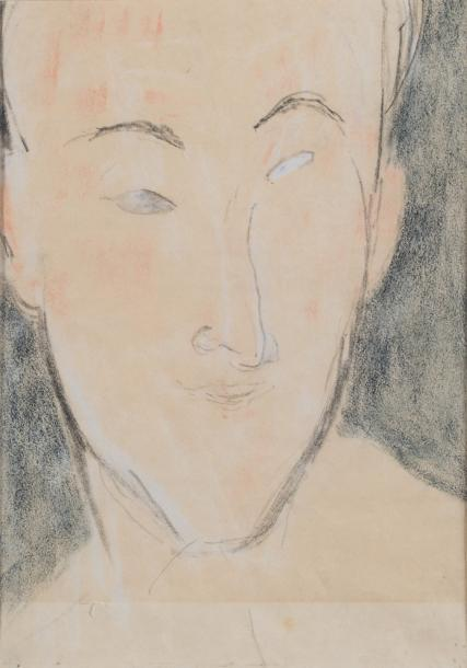 Portrait d?homme by Amedeo Modigliani