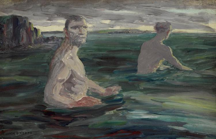 Old men bathing by Jack Butler Yeats