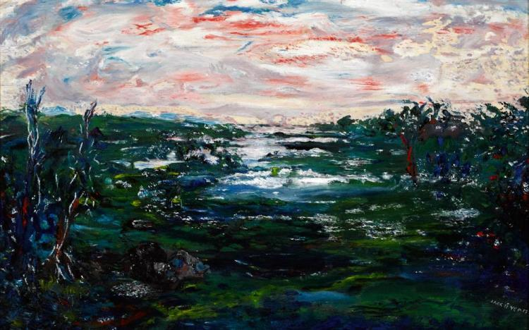 Winter In Galway, from Lady Gregory's House, Coole Park by Jack Butler Yeats