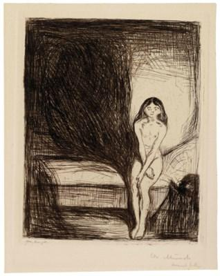 Puberty by Edvard Munch