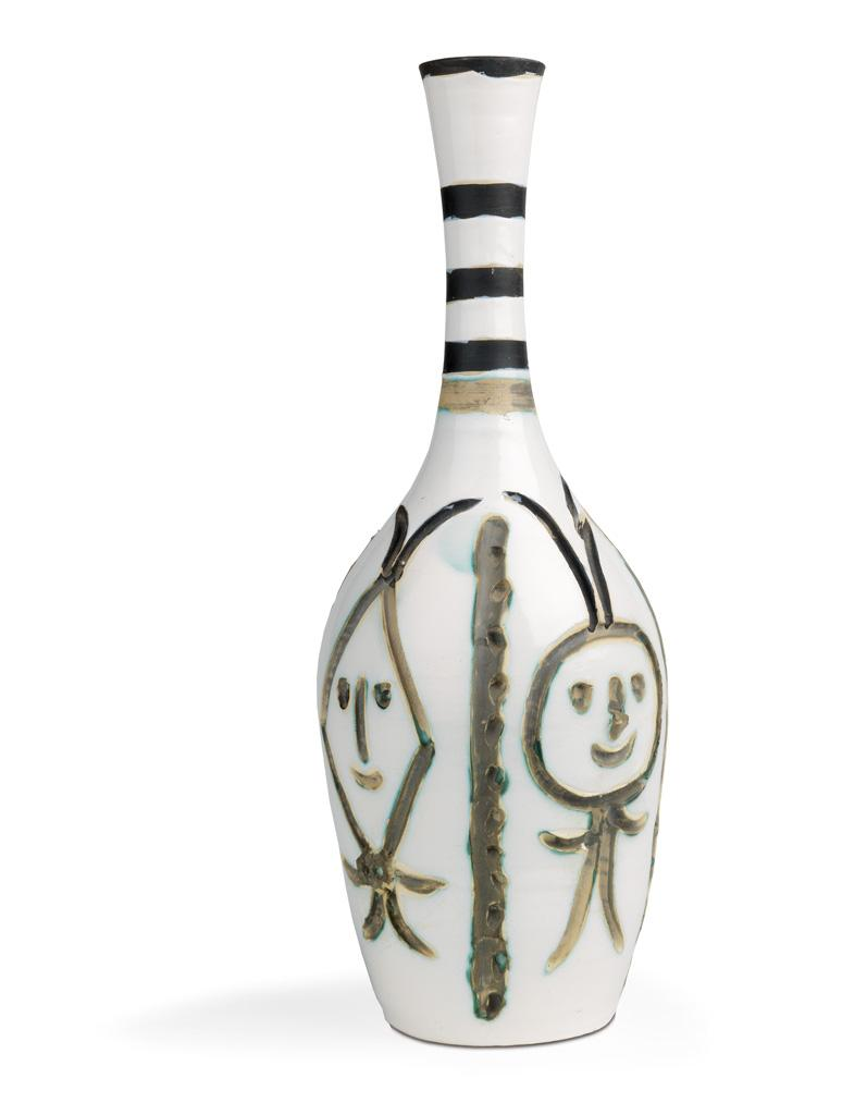 Engraved Bottle by Pablo Picasso