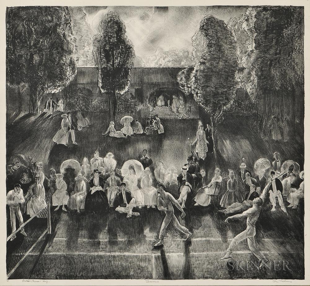 Tennis by George Bellows