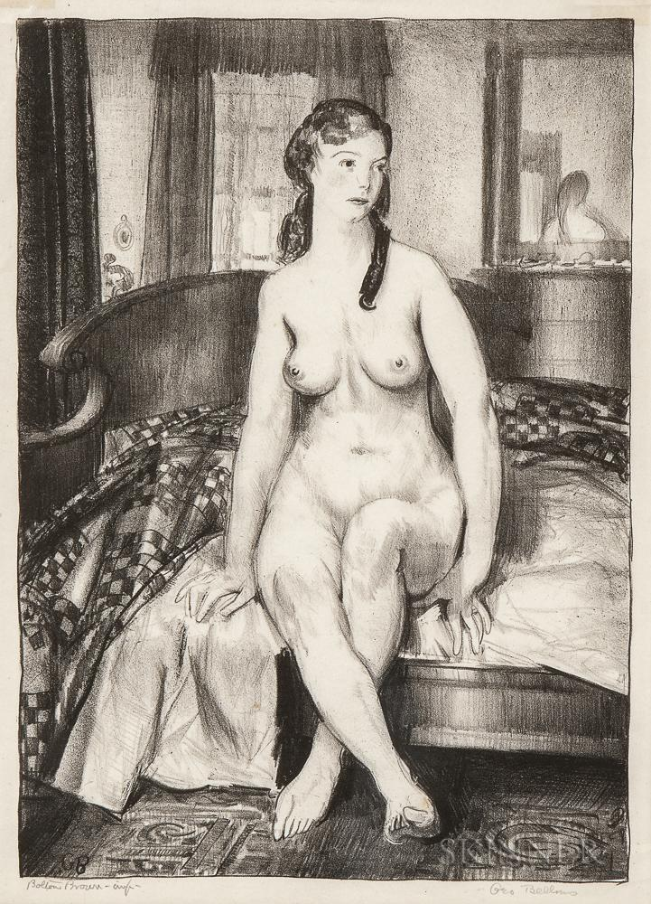 Morning, Nude on Bed by George Bellows