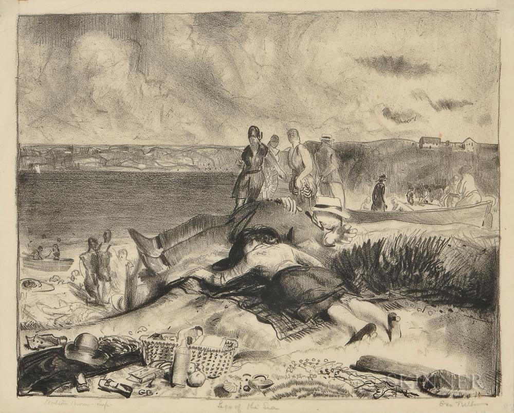Legs of the Sea by George Bellows