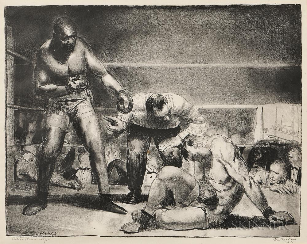 The White Hope by George Bellows
