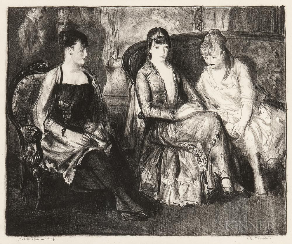 Elsie, Emma and Marjorie by George Bellows