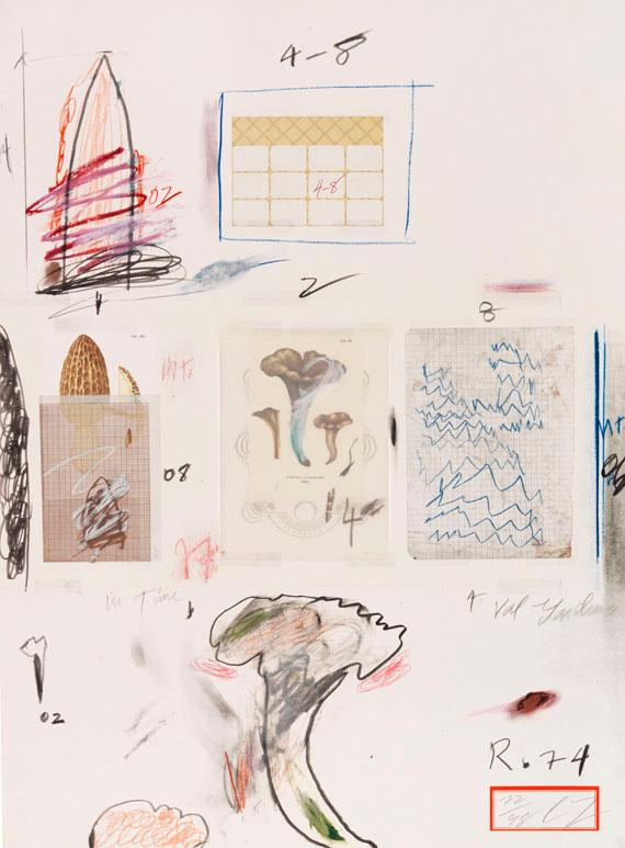 Natural History Part I (No. VI) by Cy Twombly