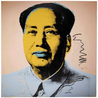Mao: One Plate by Andy Warhol