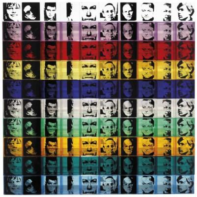 Portraits of the Artists, from Ten from Leo Castelli by Andy Warhol