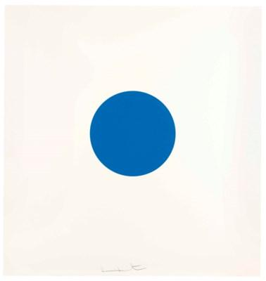Pridinol, from 12 Woodcut Spots by Damien Hirst