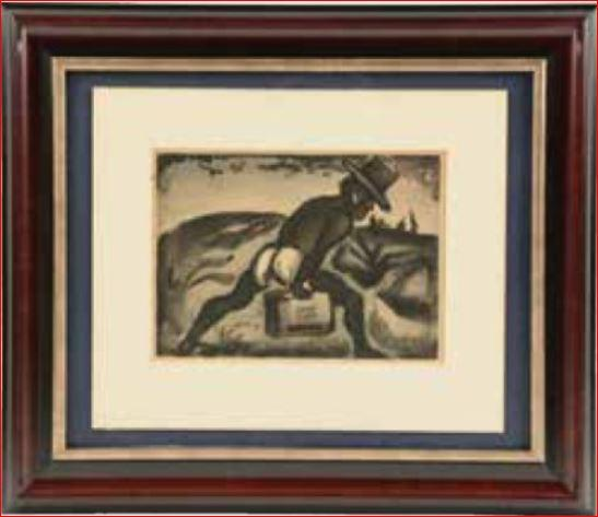 Negro porter by Georges Rouault