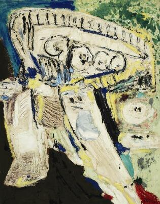 Les ann?es qui tiennent (The Years that Count) by Asger Jorn