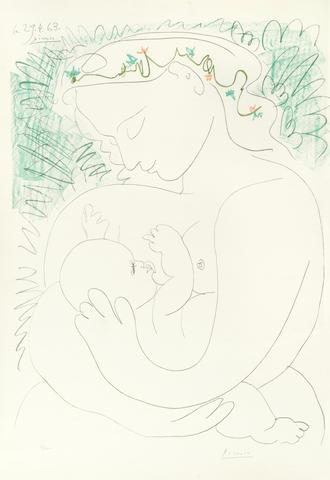 Maternit? by Pablo Picasso
