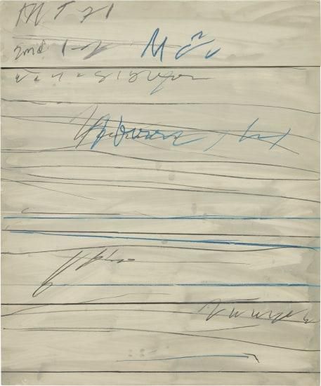 Untitled (Ramifications) by Cy Twombly