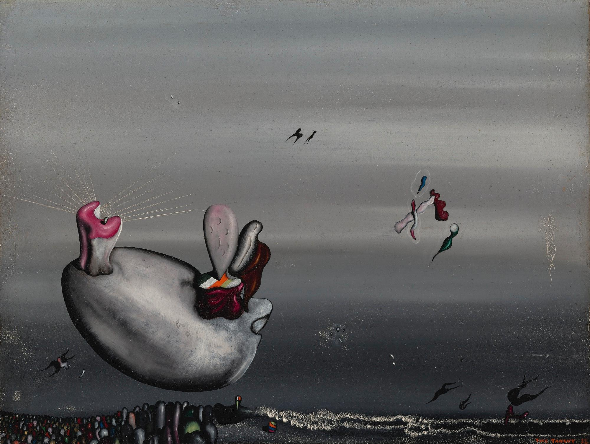 Roux En Hiver by Yves Tanguy