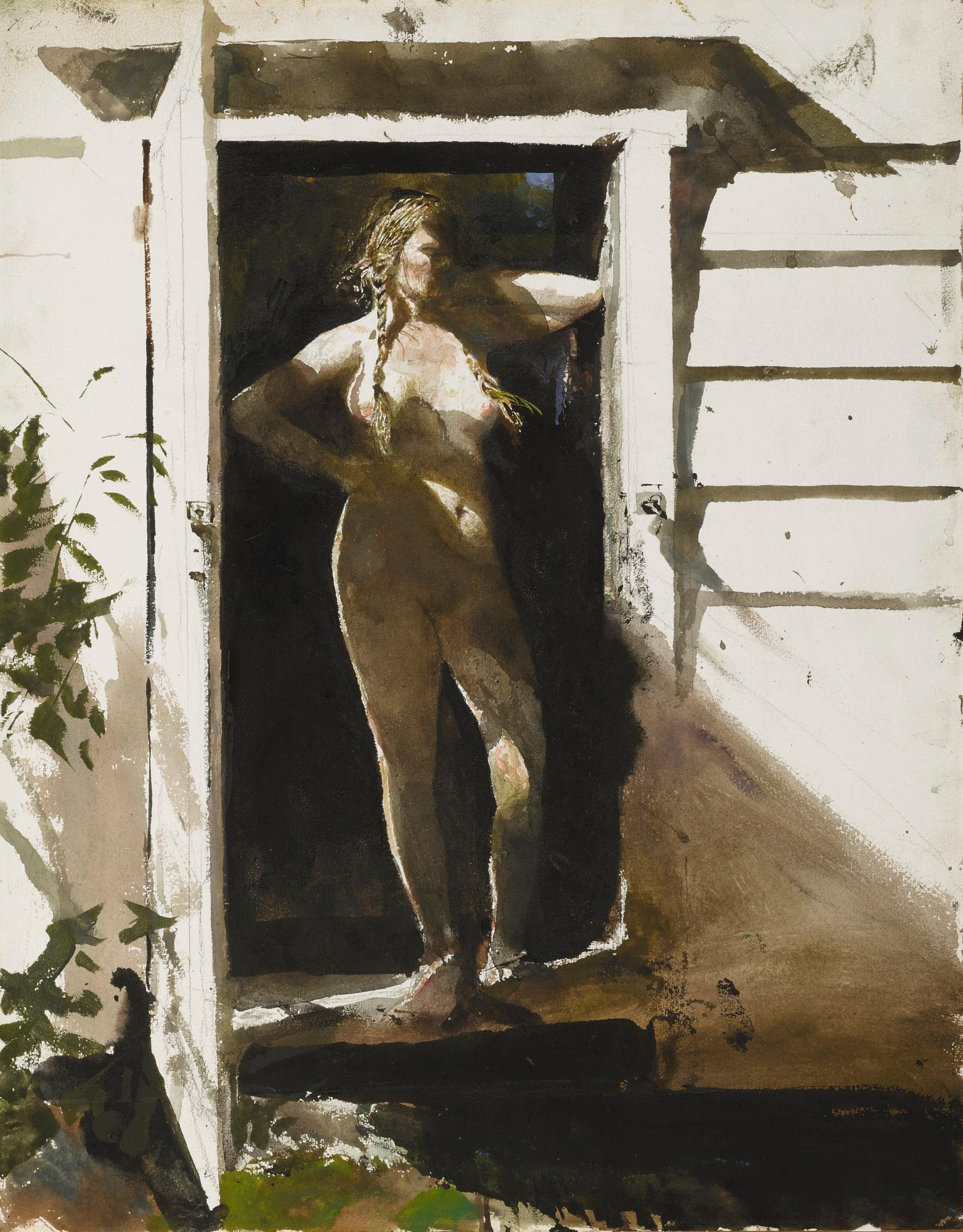 In The Doorway by Andrew Wyeth