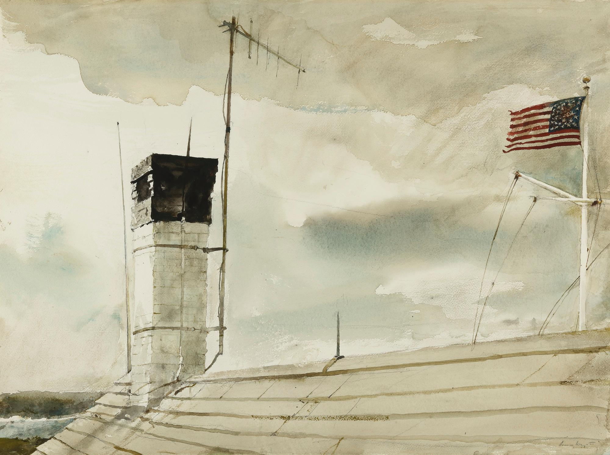 Aerial by Andrew Wyeth