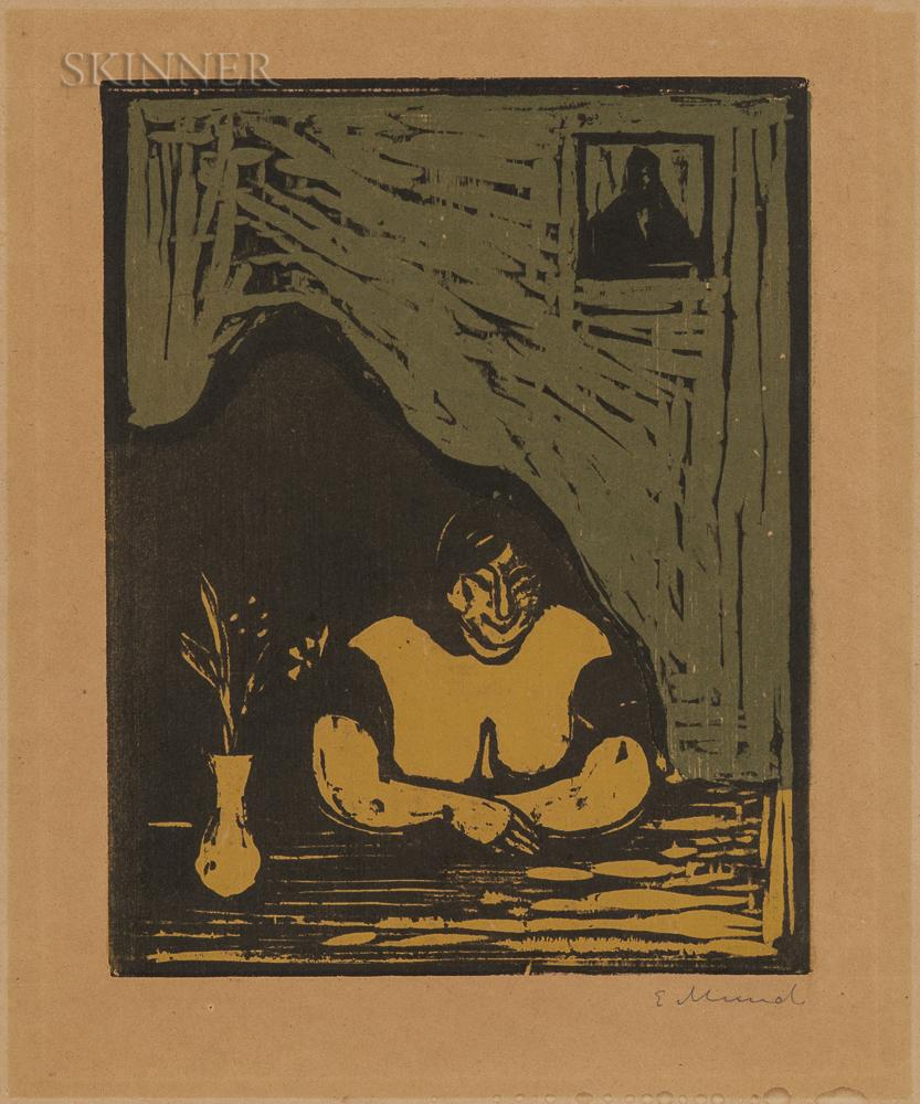 Den Tykke Horen (The Fat Whore by Edvard Munch