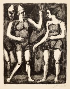 La Parade From MaÎTres &Amp Petits Ma?tres d'Aujourd'hui by Georges Rouault