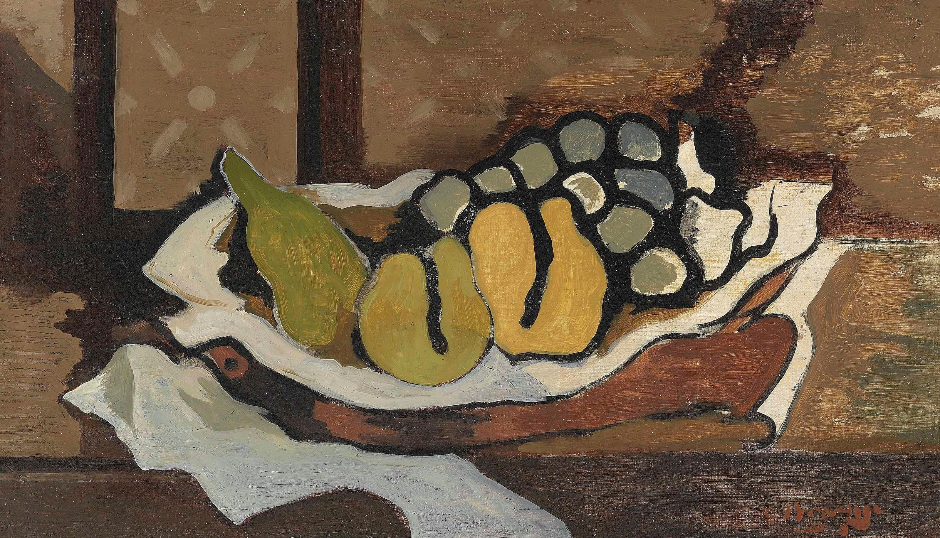 Fruits Dans Un Plat by Georges Braque