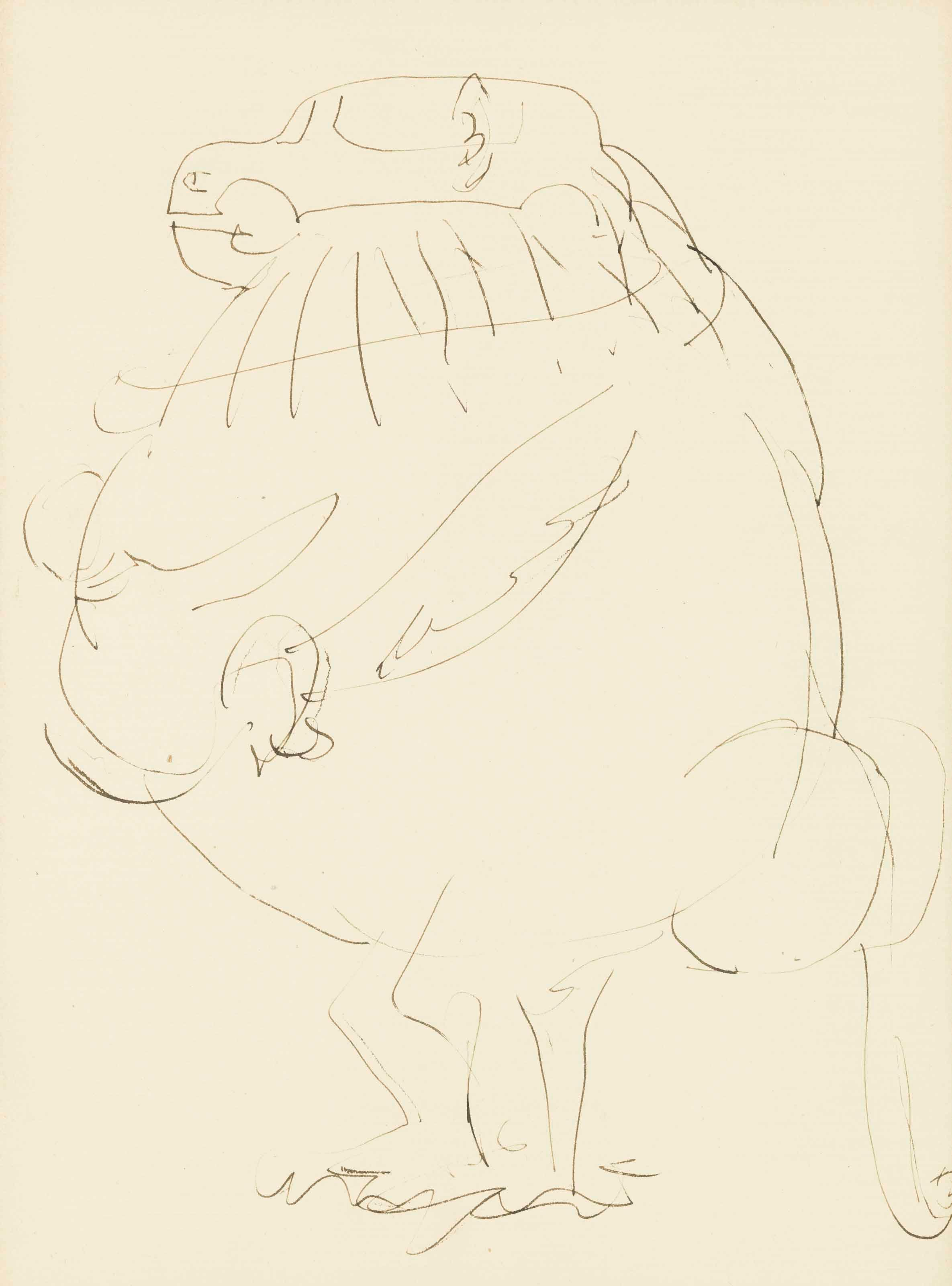 Le Babouin by Pablo Picasso