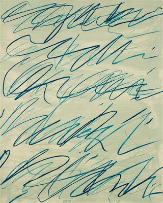 Roman notes VI, from Roman notes by Cy Twombly