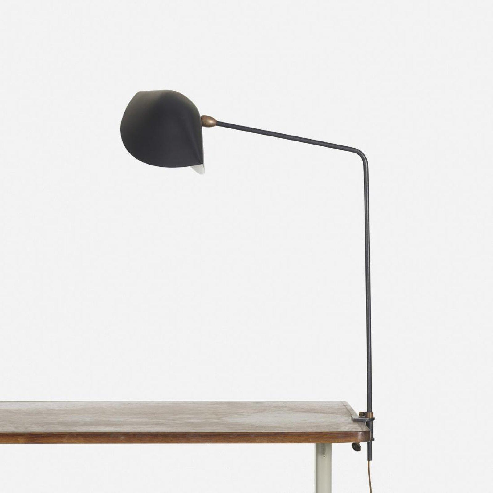 Agrafee Table Lamp By Serge Mouille