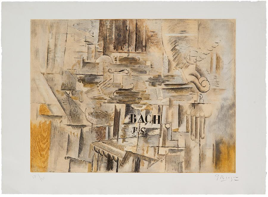 Hommage ? J.S. Bach by Georges Braque