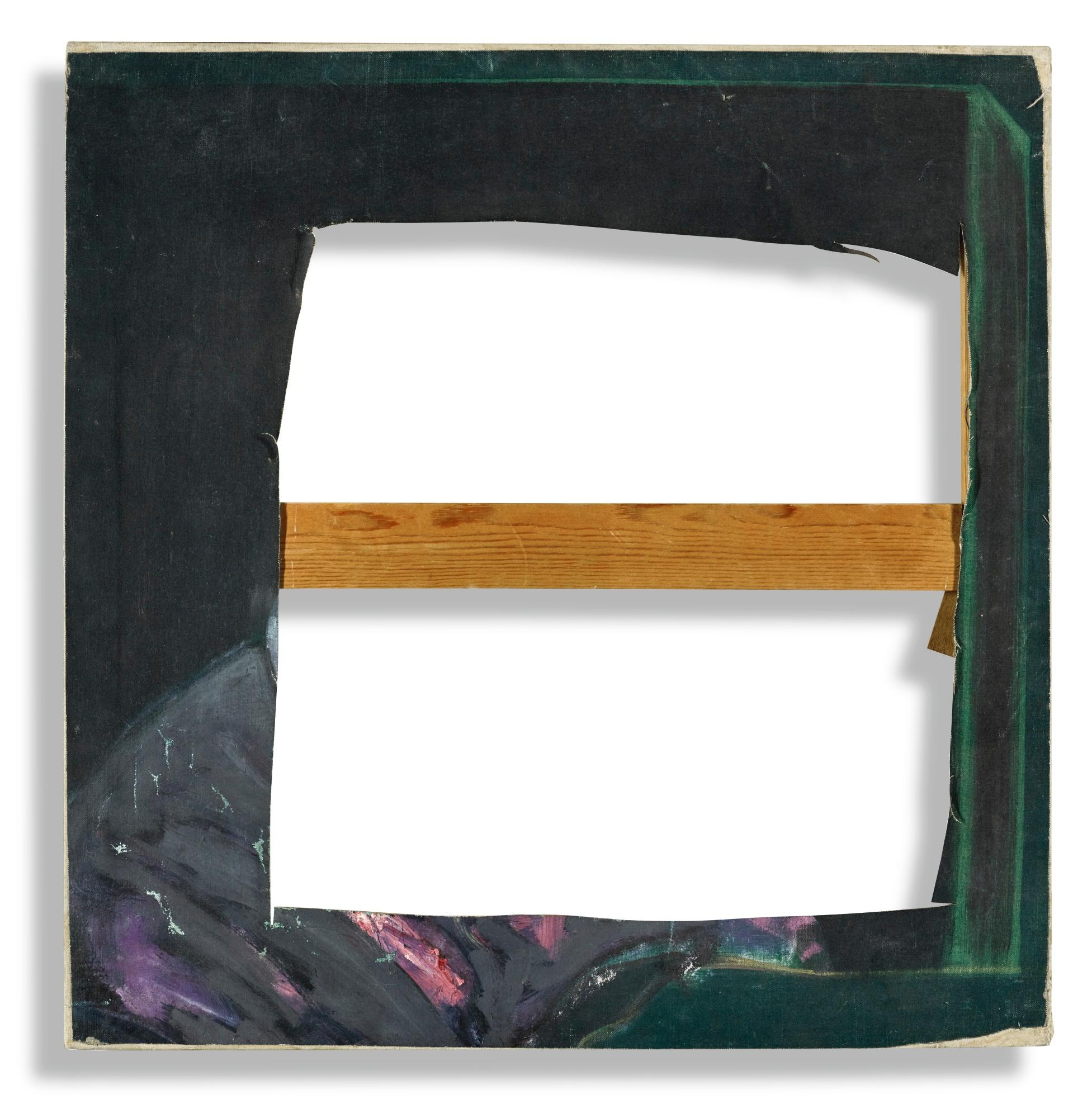 Untitled (Pope) Slashed Canvas by Francis Bacon