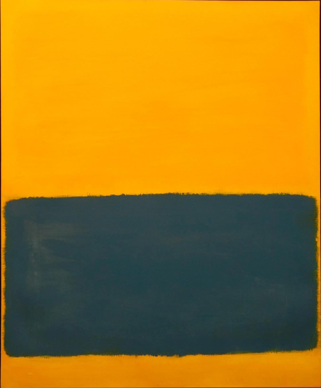 Untitled (Abstract Yellow and Blue) by Mark Rothko
