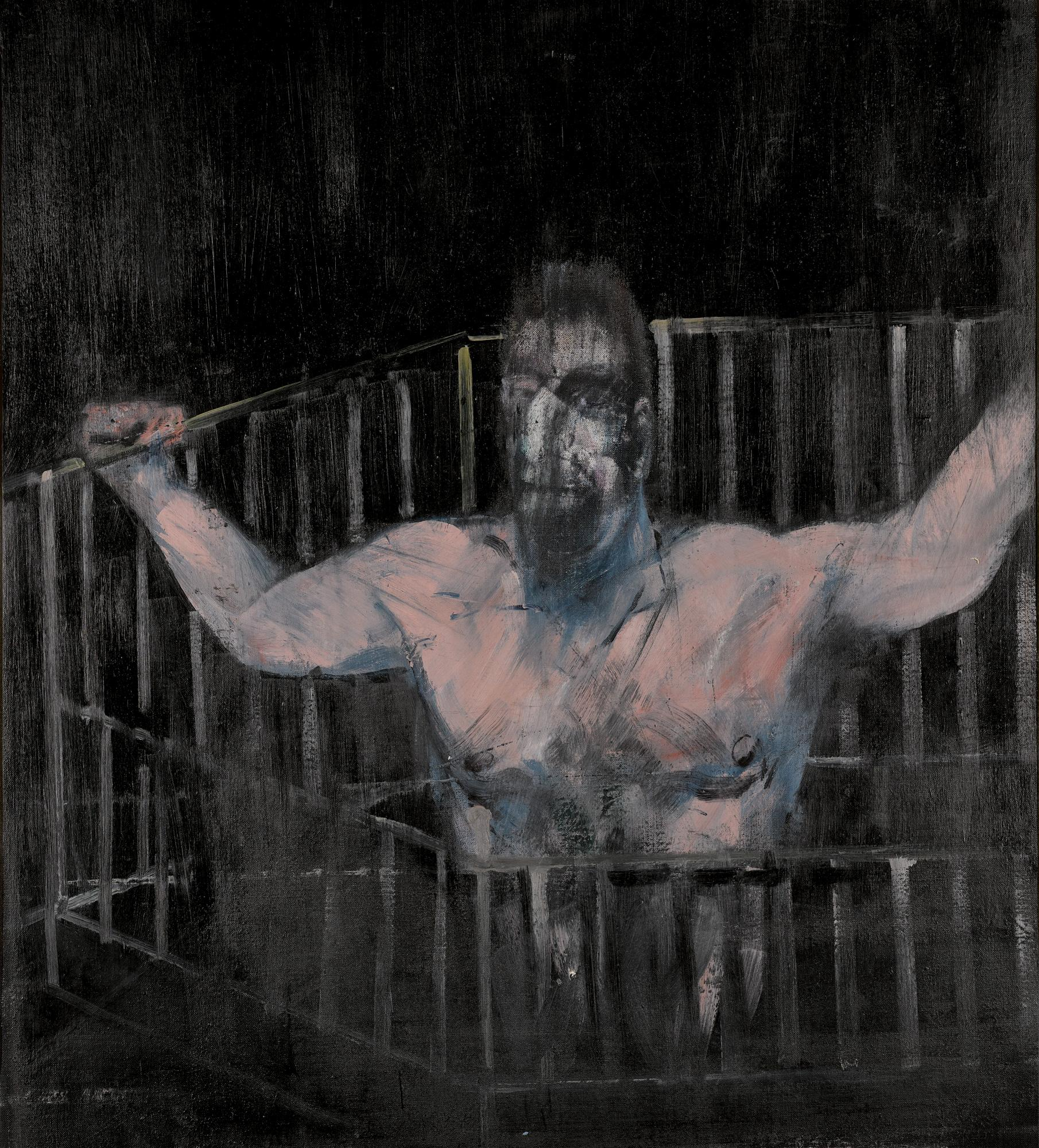 Study Of A Figure by Francis Bacon