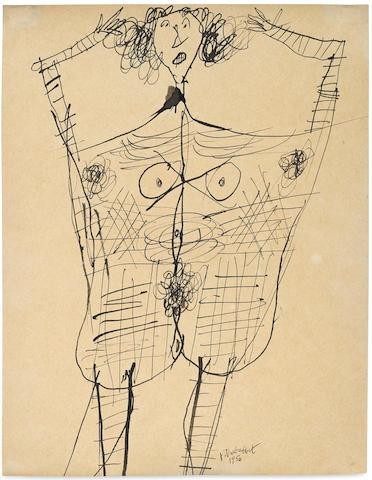 Corps de Dame by Jean Dubuffet