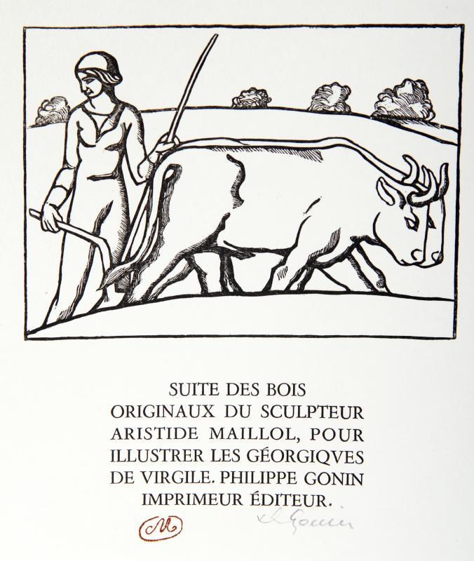 Title Page from les Georgiques by Aristide Maillol