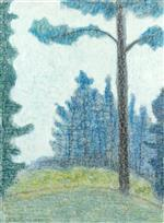 Sentinel by Milton Avery