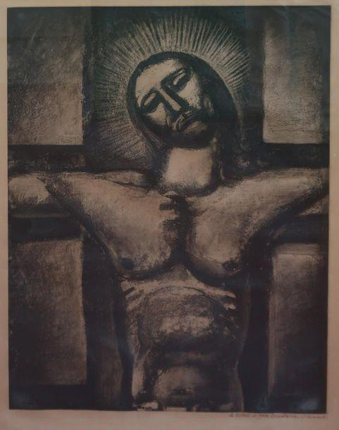 Crucifixion by Georges Rouault