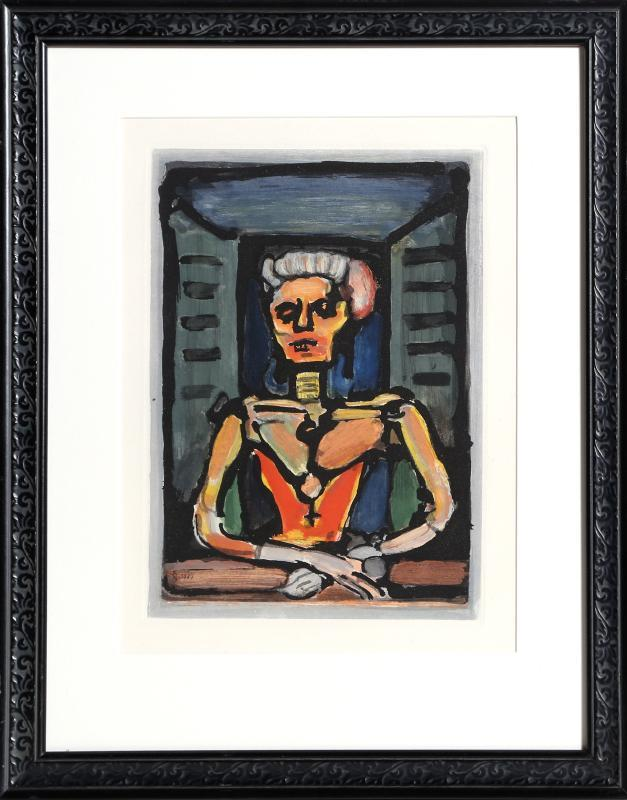 Veille Courtisane by Georges Rouault