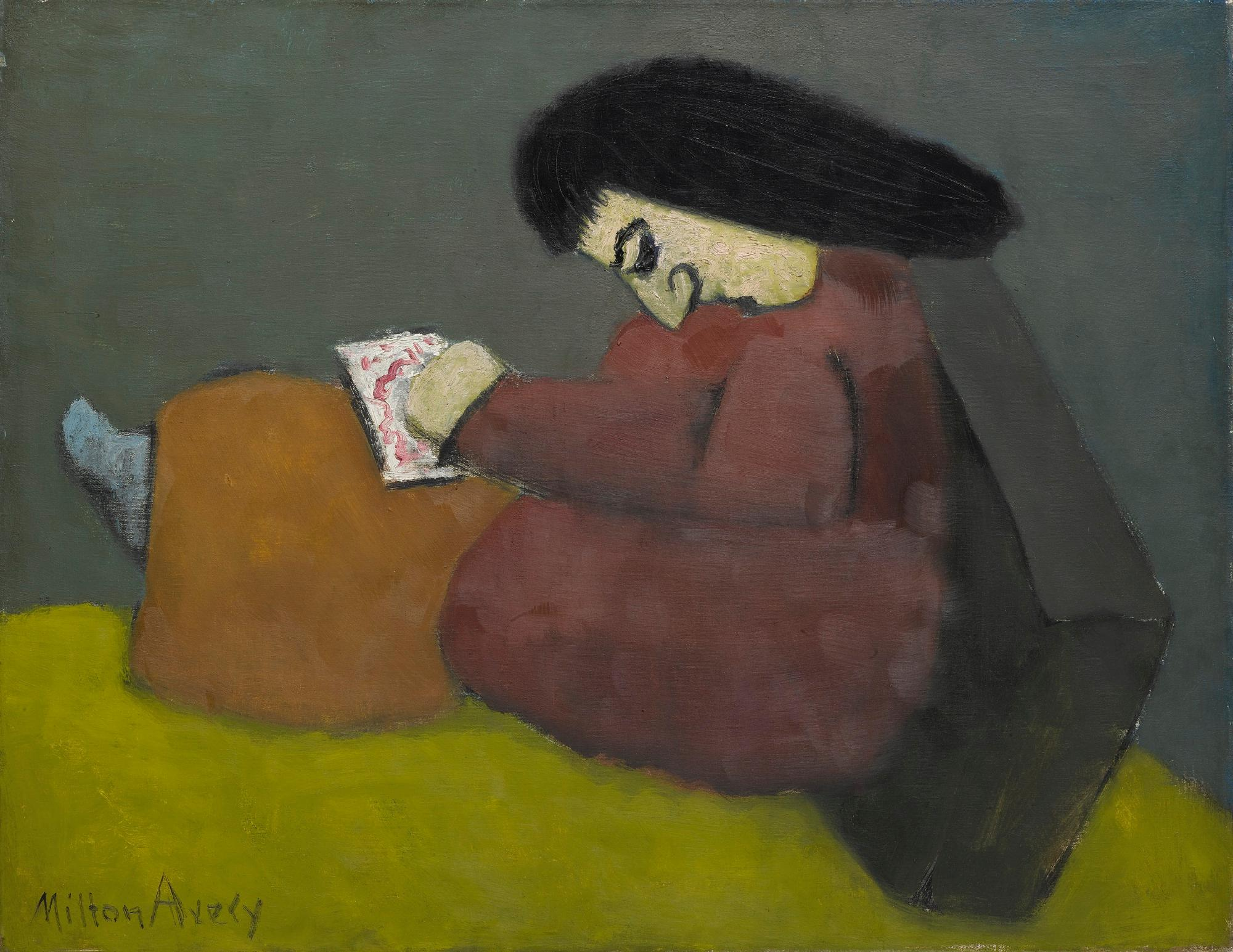 Young Artist by Milton Avery