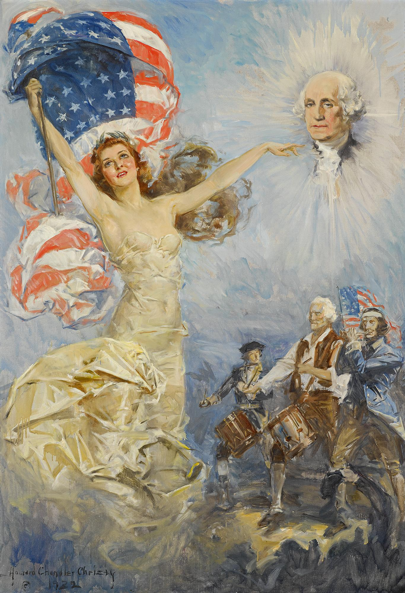 Seems howard chandler christy nude once