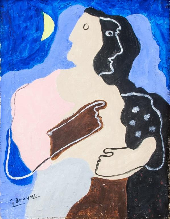 Featuring a cubist portrait. by Georges Braque b5f0212fe